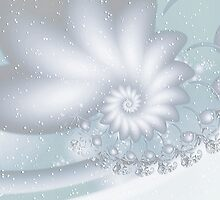 Flowers in a Snow Drift  by Elaine  Manley