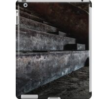 Abandoned theatre steps - architectual heritage iPad Case/Skin