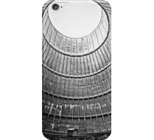 the house inside the cooling tower - industrial decay iPhone Case/Skin