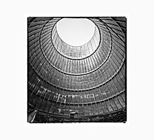 the house inside the cooling tower - industrial decay Unisex T-Shirt