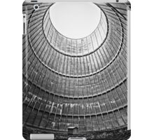the house inside the cooling tower - industrial decay iPad Case/Skin