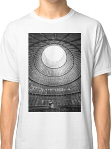 the house inside the cooling tower - abandoned factory Classic T-Shirt