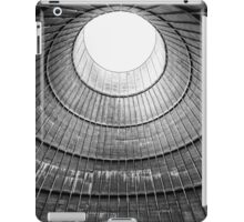 the house inside the cooling tower - abandoned factory iPad Case/Skin