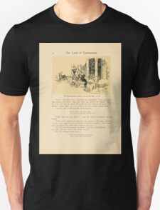 The Land of Enchantment by Arthur Rackham 0032 The Ground Gnome Began to Muzzle the Dogs Unisex T-Shirt