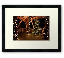 Longwood Gardens in Winter Framed Print