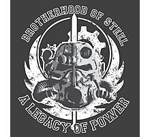 Brotherhood of Steel Photographic Print