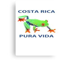 Red eyed tree frog Costa Rica Canvas Print