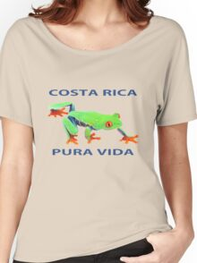 Red eyed tree frog Costa Rica Women's Relaxed Fit T-Shirt