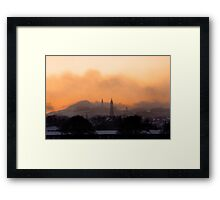 Edinburgh Winter Sunrise Framed Print