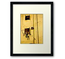 A Place to Hang Framed Print