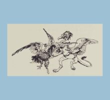 The Zankiwank & the Bletherwitch by Shafto Justin Adair Fitz Gerald art Arthur Rackham 1896 0188 Griffin and Phoenix Kids Tee