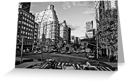 Intersection B&W by daniellesalmon