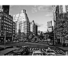 Intersection B&W Photographic Print