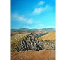 Distant hills Photographic Print