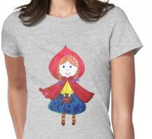 Little Red Riding Hood Womens Fitted T-Shirt