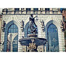 Neptun fountain, Gdansk Photographic Print