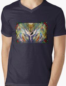 Ballet Colour Mens V-Neck T-Shirt