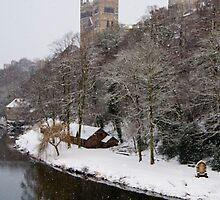 Durham Snowstorm by AJ Airey