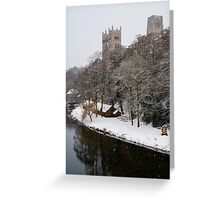 Durham Snowstorm Greeting Card