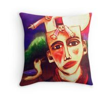 The Suffering Of Desire Throw Pillow