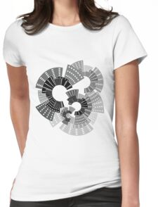 City Wheels Womens Fitted T-Shirt