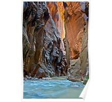 The Virgin Narrows, Utah Poster