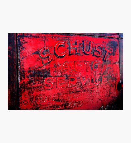 SCHUST Auto Service Photographic Print