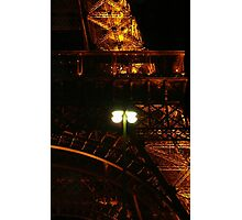 Eiffel Tower detail - Paris, FR Photographic Print