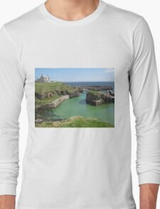Port of Ness, Isle of Lewis Long Sleeve T-Shirt