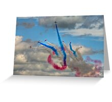 The Red Arrows Greeting Card
