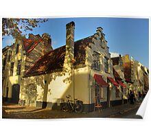 Brugge Street Scene Poster