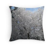 Snowy scenes Throw Pillow