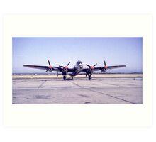 Lancaster Bomber Art Print