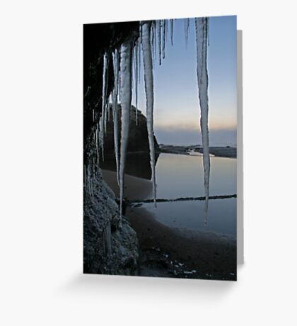 Icy Donegal Greeting Card