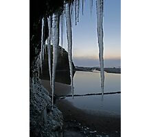 Icy Donegal Photographic Print