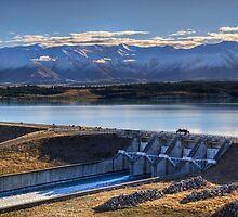 Lake Pukaki and Gate 19 by Antony Burton