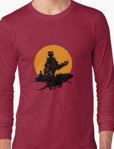 Robot Musician - Bass Guitar Long Sleeve T-Shirt