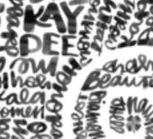 Kappa Delta Nautilus Sticker