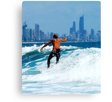 AUSTRALIA SURF Canvas Print