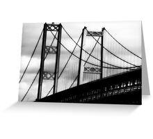 a bridge to cross~ Greeting Card