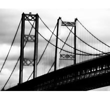 a bridge to cross~ Photographic Print