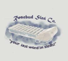 Rosebud Sled Company by marikun