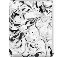 Black and White Marble iPad Case/Skin
