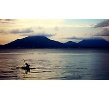 Boat man Photographic Print
