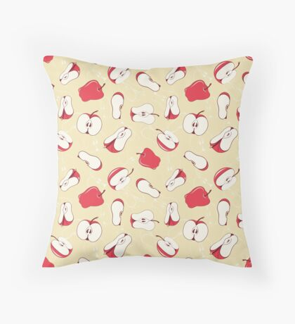 Apples, apples & more apples Throw Pillow
