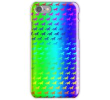 Psychedelic Unicorn Pattern iPhone Case/Skin