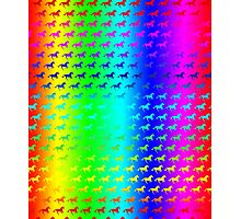 Psychedelic Unicorn Pattern Photographic Print