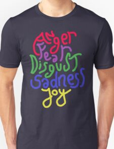 Anger, Fear, Disgust, Sadness, Joy! T-Shirt