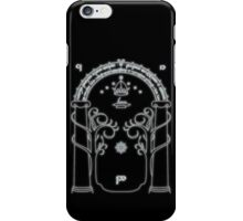 The Doors of Durin iPhone Case/Skin