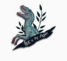 Blue is my Alpha Men's Baseball ¾ T-Shirt
